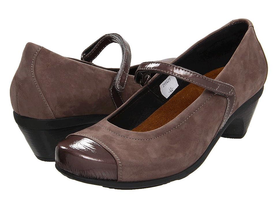 Naot Flare (Shiitake Nubuck/Shiitake Patent Leather) Women