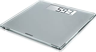 Soehnle 63855 Style Sense Comfort 400 Silver Bathroom Scale, Digital Scale with Large Weighing Surface, Weighs up to 180 k...