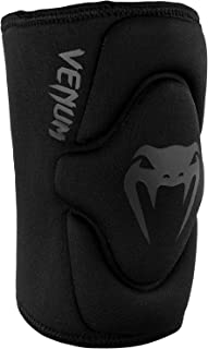 Venum Kontact Lycra/Gel Knee Pads, Black, Medium/Large