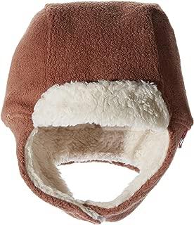 Zutano Baby Cozie Fleece Furry Hat, Chocolate, 18 Months