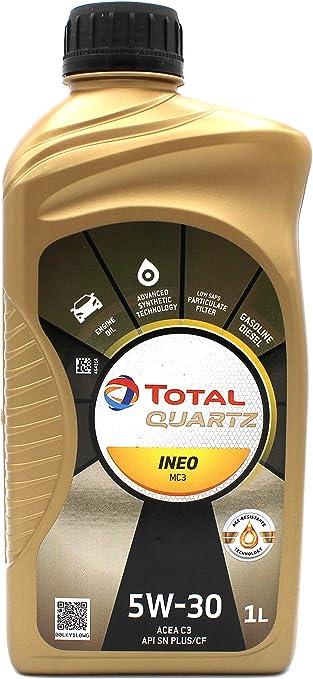 Total Quartz Ineo Mc3 5w 30 1 Liter Auto