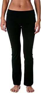 featured product Hollywood Star Fashion Women's Slimming Foldover Bootleg Flare Yoga Pants
