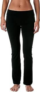 Women's Slimming Foldover Bootleg Flare Yoga Pants