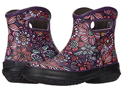 Bogs Patch Ankle Boot Bright Garden (Purple Multi) Women
