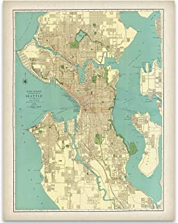 vintage city maps