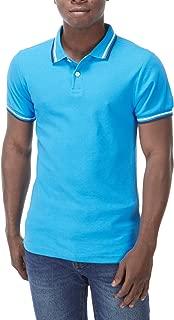 Charles Wilson Men's Contrast Tipped Polo Shirt Shirt