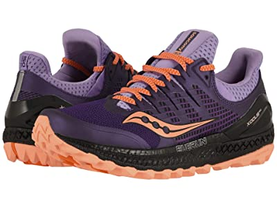 Saucony Xodus ISO3 (Purple/Peach) Women