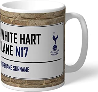 Tottenham Hotspur Official Personalized Street Sign Mug - Free Personalisation
