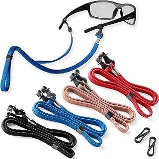 Sponsored Ad - Eyeglasses String Holder Straps Cord - 4 Premium Eyeglass Chains for Men Women - Eye Glasses Strap Chain - ...