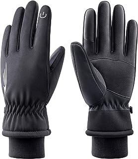 Winter Gloves Men Women,Waterproof Touch Screen Gloves Warm Ski Gloves Windproof Thermal Gloves 605