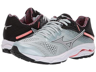 Mizuno Wave Inspire 15 (Sky Gray/Silver) Girls Shoes