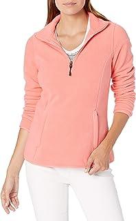 Amazon Essentials Quarter-zip Polar Fleece Jacket - fleece-outerwear-jackets Mujer