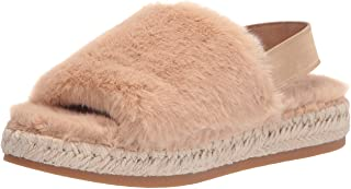 Dolce Vita Women's Keya Slipper, Sand Faux Fur, 8