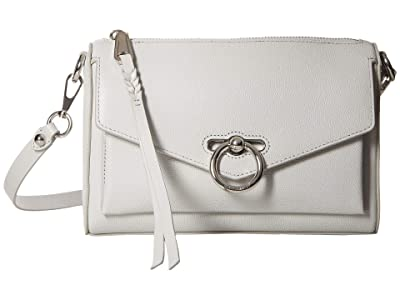 Rebecca Minkoff Jean Mac (Ice Grey) Cross Body Handbags