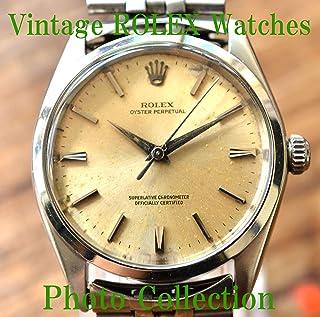 ROLEX Vintage Antique Watches Photo Collection