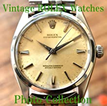 ROLEX Vintage Antique Watches Photo Collection (English Edition)
