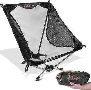 Ultralight Camping Chair, YIZI LITE 750g Hiking...