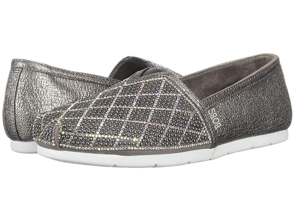 BOBS from SKECHERS Luxe Bobs (Pewter) Women