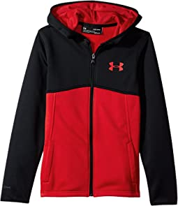 Armour Fleece Full Zip Hoodie (Big Kids)