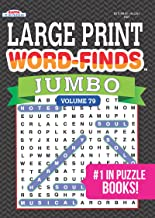 JUMBO Large Print Word-Finds Puzzle Book-Word Search Vol 79