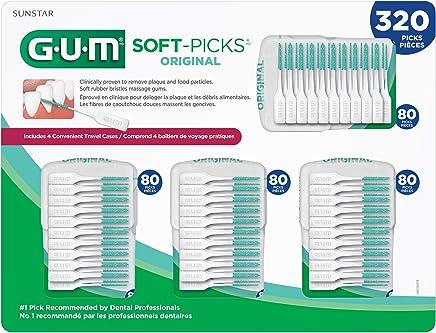 GUM Soft-Picks Original Dental Picks (Pack of 320)