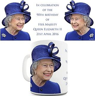 Twisted Envy Celebrates Queen Elizabeth II 90th Birthday Ceramic Mug