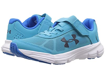 Under Armour Kids UA GPS Rave 2 AC (Little Kid) (Alpine/Blue Circuit/Academy) Girls Shoes