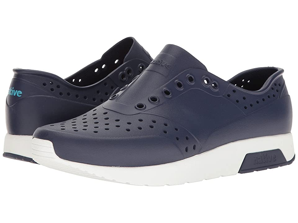 Native Shoes Lennox (Regatta Blue/Shell White) Athletic Shoes