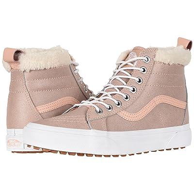Vans SK8-Hi MTE ((MTE) Metallic/Soft Pink) Skate Shoes