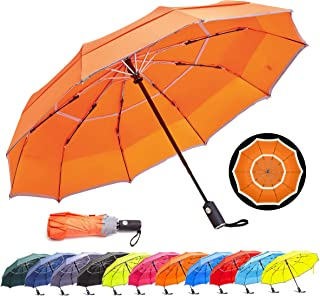 Ladies Girls Mini Pocket Umbrella Sunny Rainy Compact Folding Small Black WT