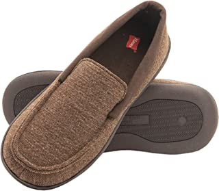 Kids' Moccasin House Shoe with Indoor Outdoor Memory Foam...