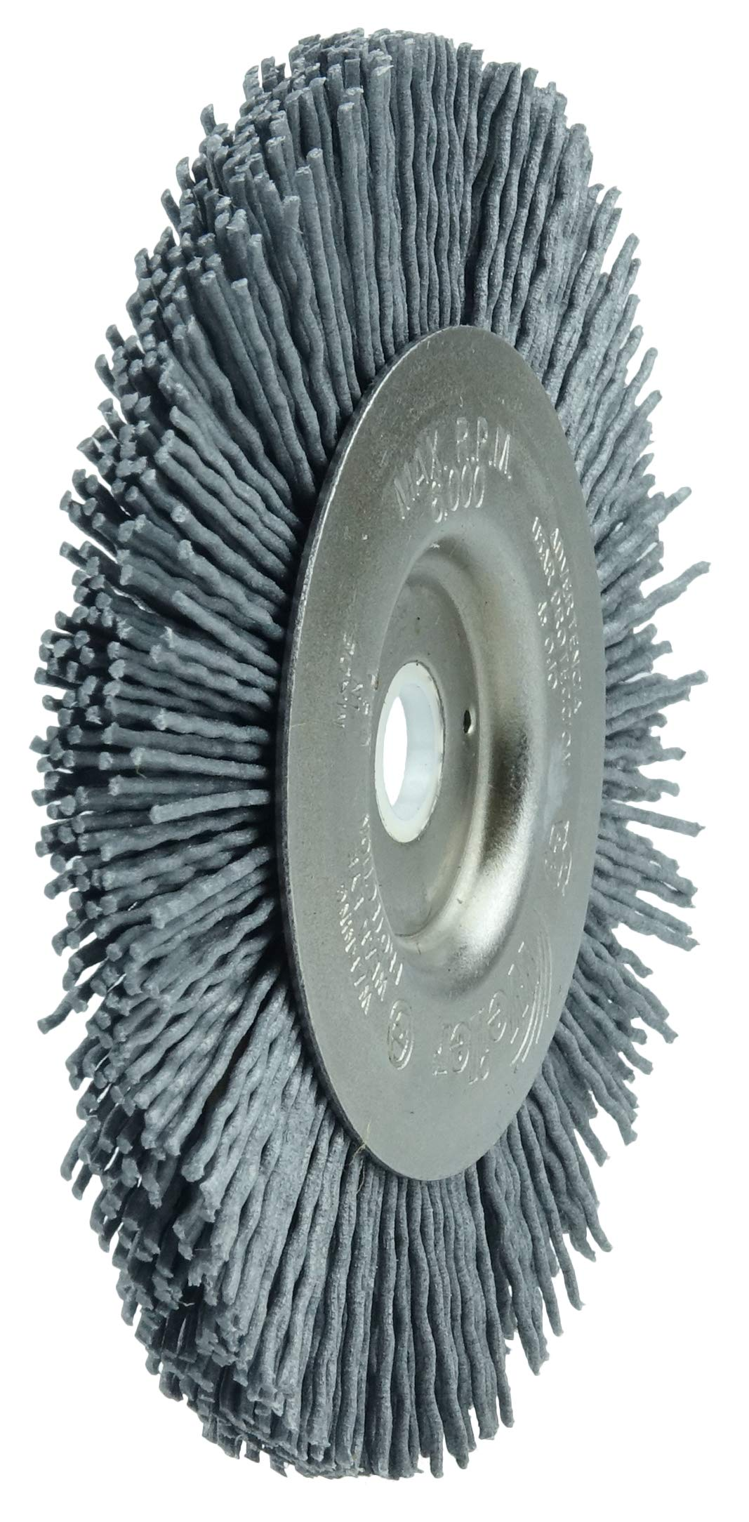 1//2 1//2 2 Length Double Stem//Single Spiral Pack of 10 Weiler Corporation Pack of 10 0.22//320SC Crimped Fill 2 Length Weiler 21130 Nylox Power Tube Brush
