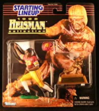Starting Lineup Marcus Allen / USC Trojans 1998 NCAA College Football Heisman Collection Action Figure, Football Helmet & Miniature 1981 Heisman Memorial Trophy University of Southern California