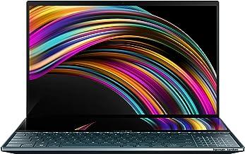 "ASUS ZenBook Pro Duo UX581 Laptop, 15.6"" 4K UHD NanoEdge Touch Display, Intel Core i7-10750H, 16GB RAM, 1TB PCIe SSD, GeFo..."