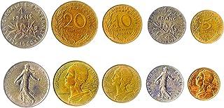 هواية الملوك عملات مختلفة - العملات الأجنبية الفرنسية القديمة والقابلة للتحصيل لجمع الكتب - مجموعات فريدة من المال التذكار...