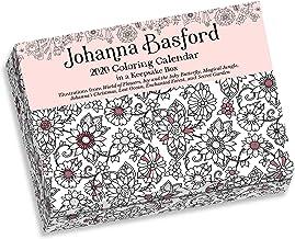 Johanna Basford 2020 Coloring Day-to-Day Calendar