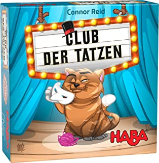 HABA 305277 – Club of Paws Family Game from 7 Years Old and Above Deduction Game with Extensive Play Material for Games Ni...