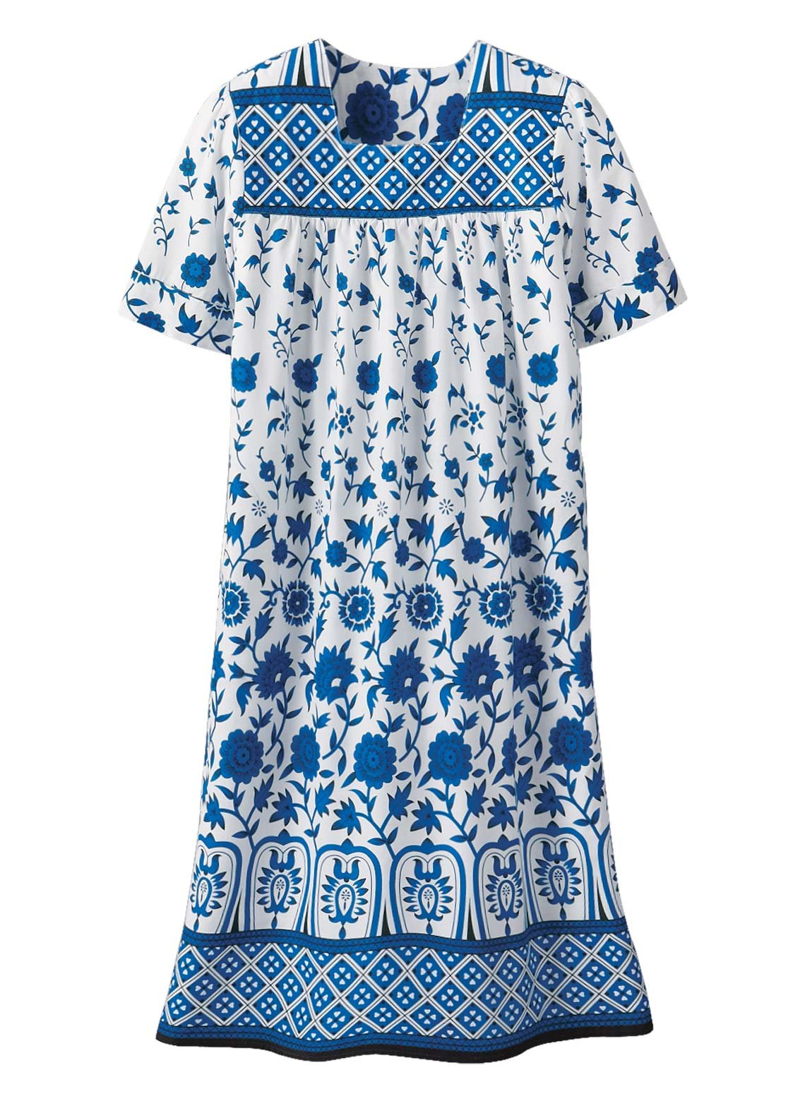 Available at Amazon: Batik Dresses and Loungers for Women Color Royal Size XL Royal Size XL