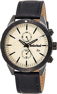 Timberland Reloj Analógico para de los Hombres de Cuarzo con Correa en Piel Genuina TBL.15650JSUB/14