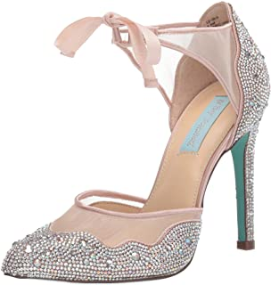 Blue Betsey Johnson Women's Sb-iris Pump