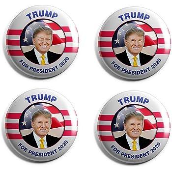 2020 Pro Donald Trump Campaign Button Set