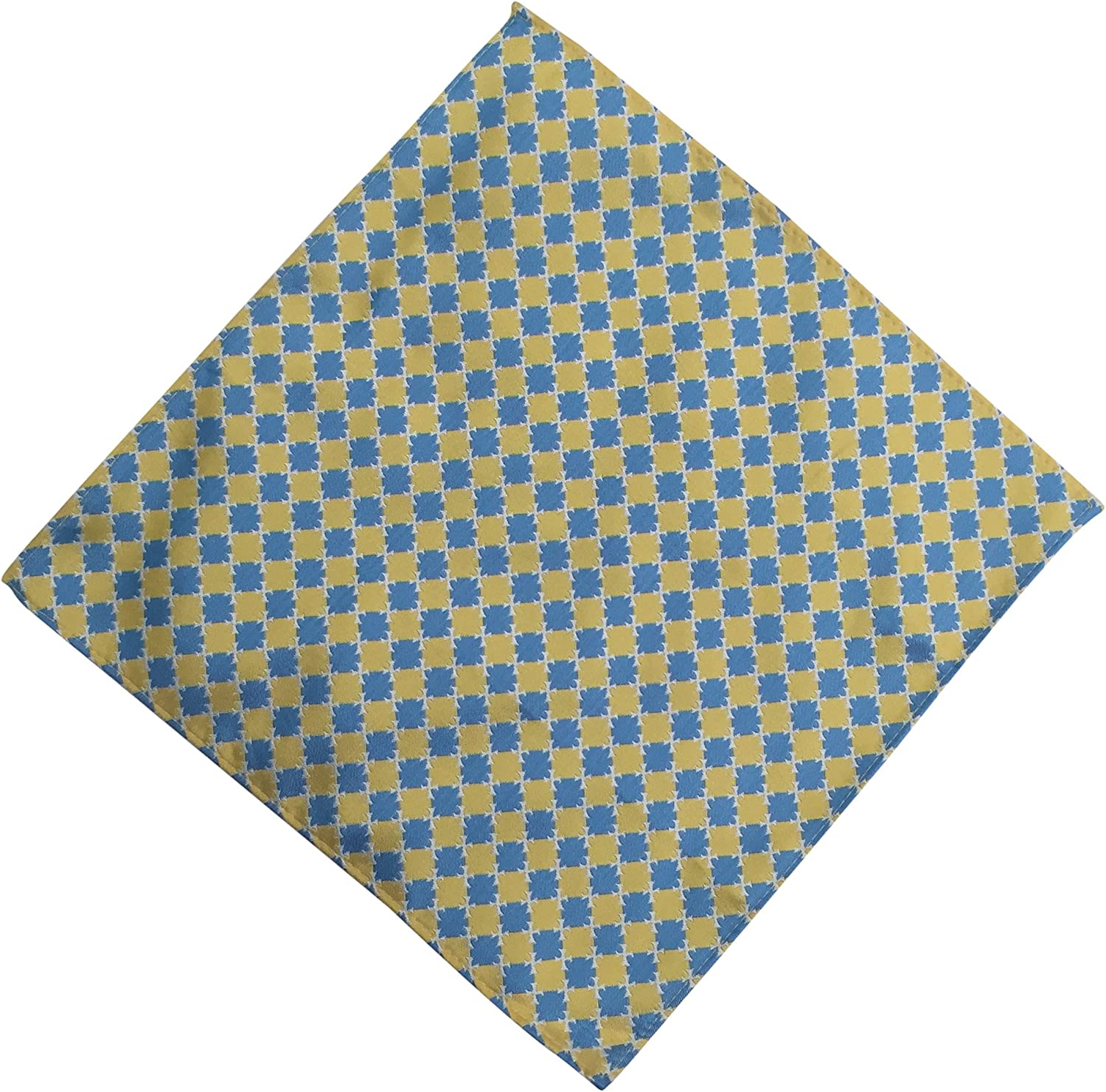 Sigma Chi Fraternity Greek Formal Occasion Standard Length Width Hanky Pocket Square Sig Chi (Checkered Hanky)