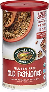 Nature's Path Organic Gluten Free Old Fashioned Oats, 18 Ounce (Pack of 6)