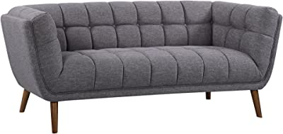 Amazon.com: Meridian Furniture 646Navy-L Mercer Modern Style ...