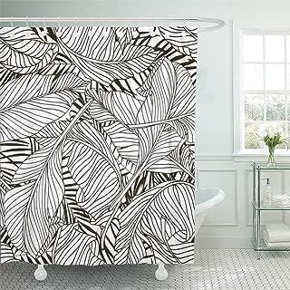 Emvency Shower Curtain Waterproof 72