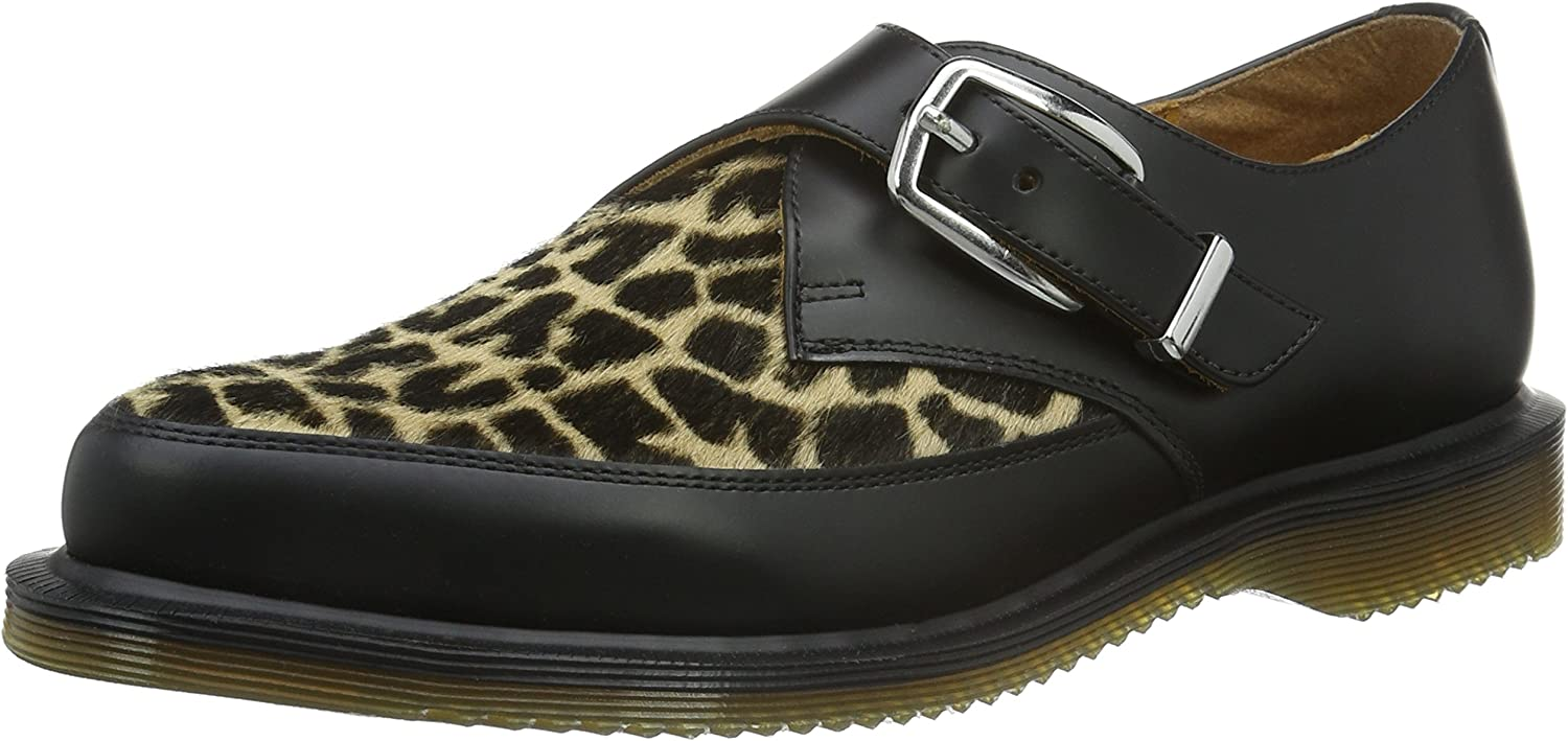 Dr. Martens Women's Hawley Smooth Black Loafers