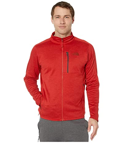 The North Face Canyonlands Full Zip (Pompeian Red Heather) Men