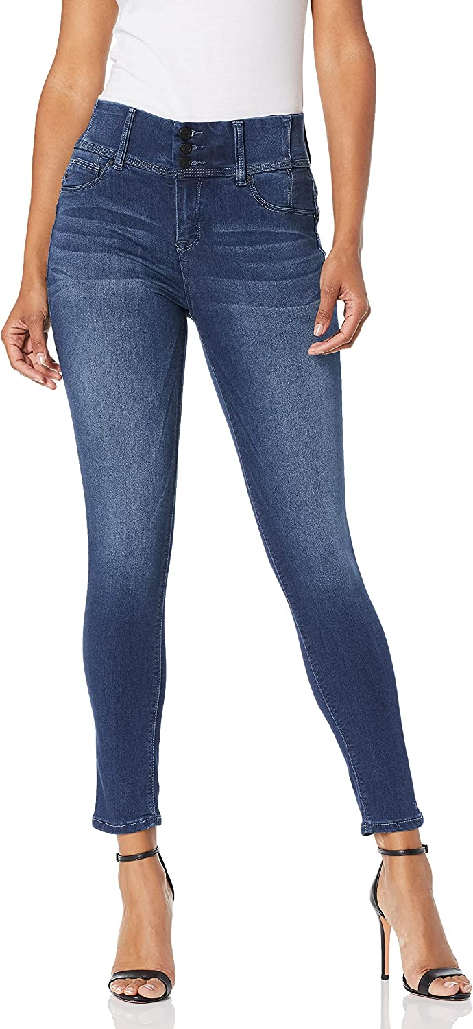 Laurie Felt Women's Curve Silky Jeans New Tulsa Mall mail order Denim Ankle Skinny