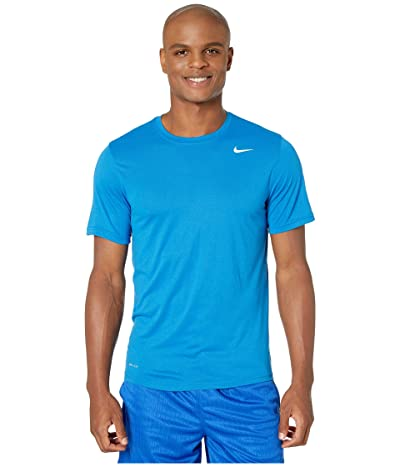 Nike Legend 2.0 Short Sleeve Tee (Battle Blue/White) Men