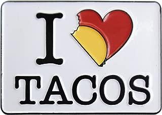 Evilkid I Heart Tacos, Licensed Original Artwork, Expertly Designed ENAMEL PIN - 1.25